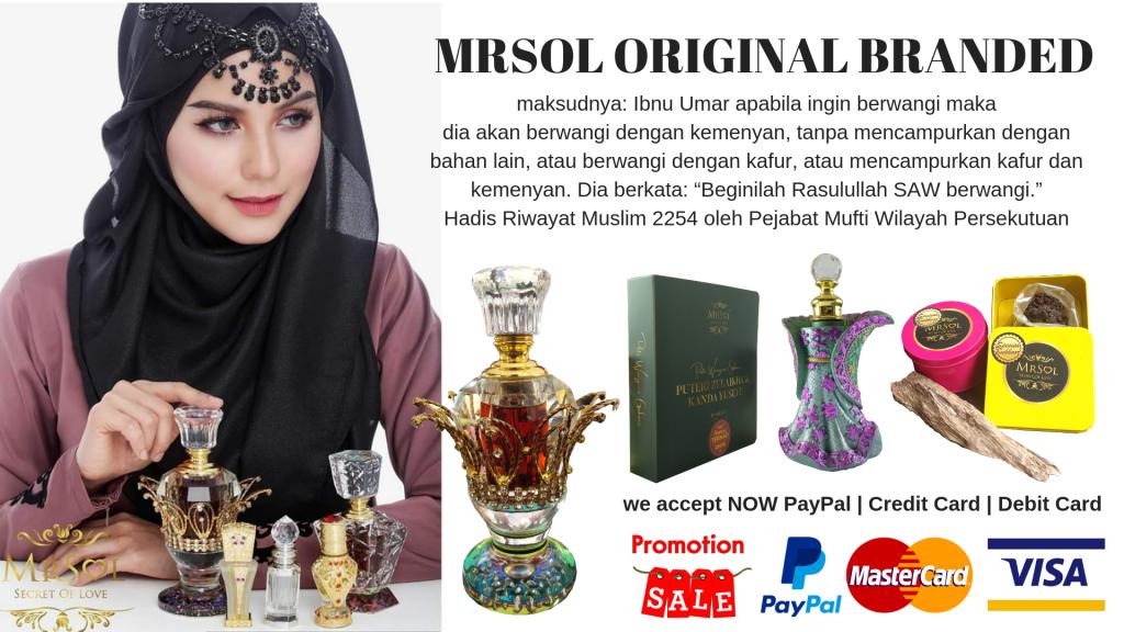MRSOL Malaysia Premium Gaharu Perfume