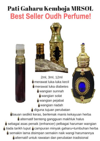 Pati Gaharu Kemboja MRSOL Best Seller