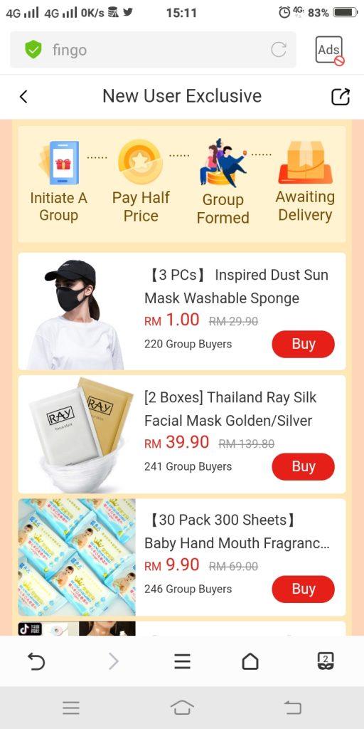 9) pilih barang bernilai RM199 di ruang prefferred product(3)