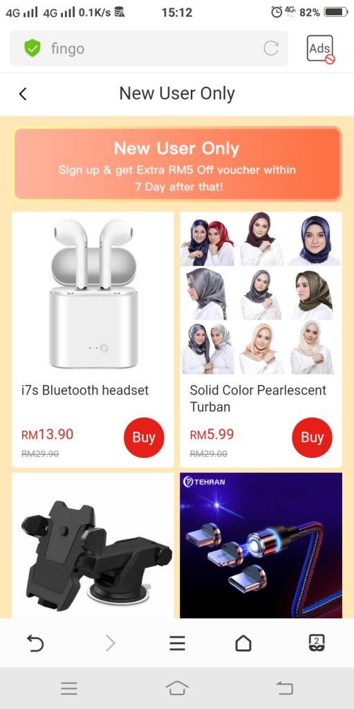 9) pilih barang bernilai RM199 di ruang prefferred product(4)