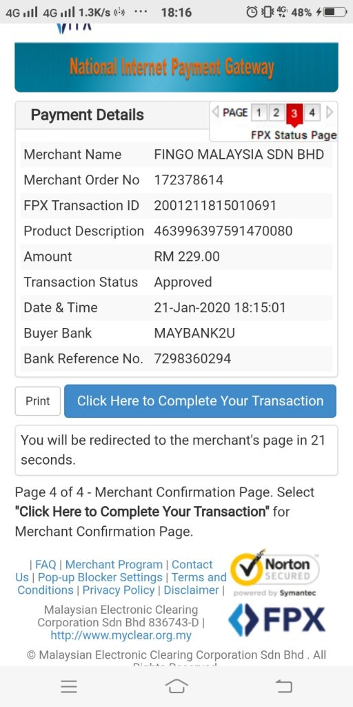11) contoh belian melalui perbankan fpx