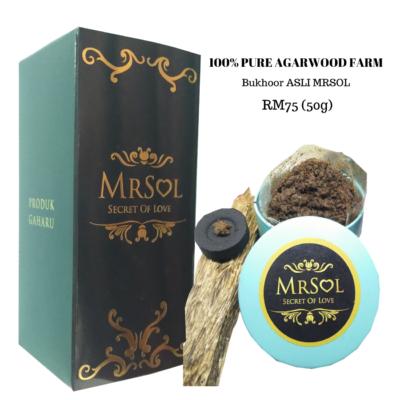Bukhoor Asli MRSOL RM75 (50g)