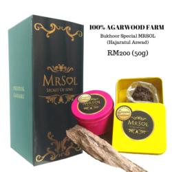 Bukhoor Special MRSOL Hajaratul Aswad RM200 (50g)