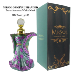 Puteri Asmara White Musk RM600 (15ml)