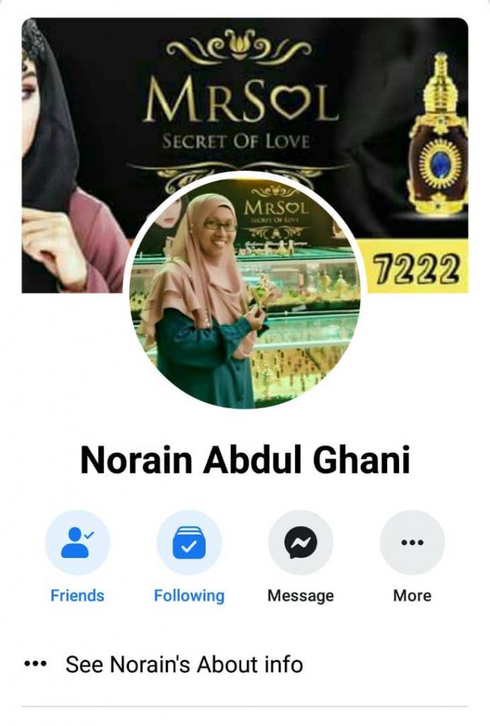 Super Agen MRSOL Johor Norain Abdul Ghani