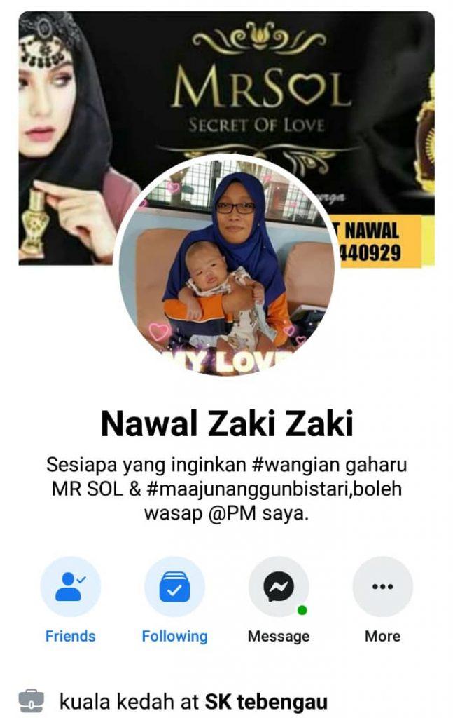 agen utama MRSOL Kedah Puan Nawal Zaki