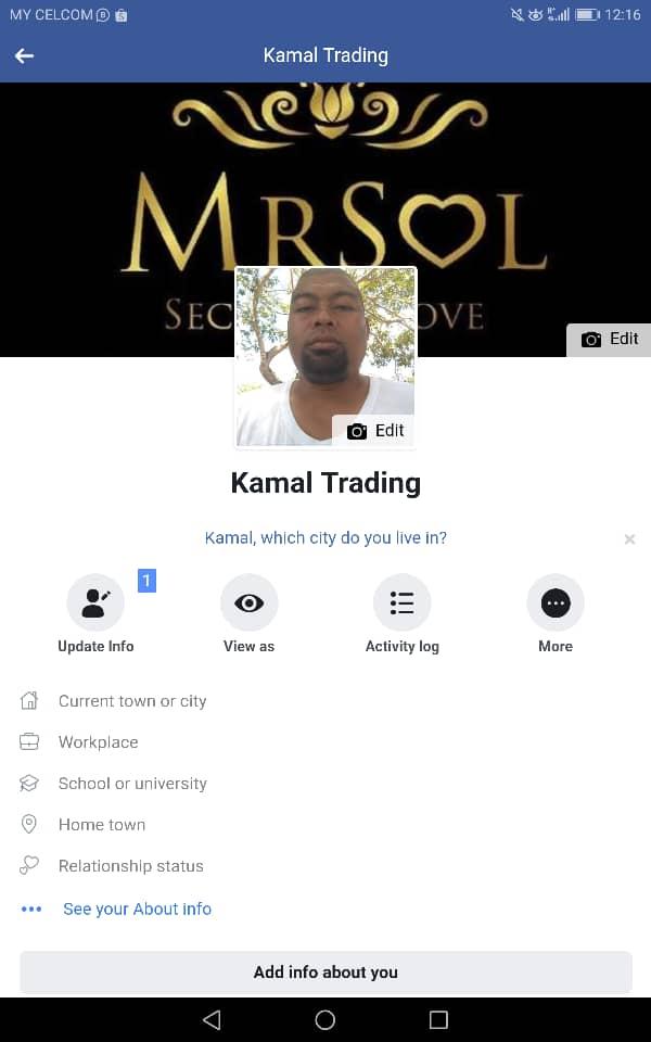 agen utama MRSOL Kedah Tuan Kamal Hamid