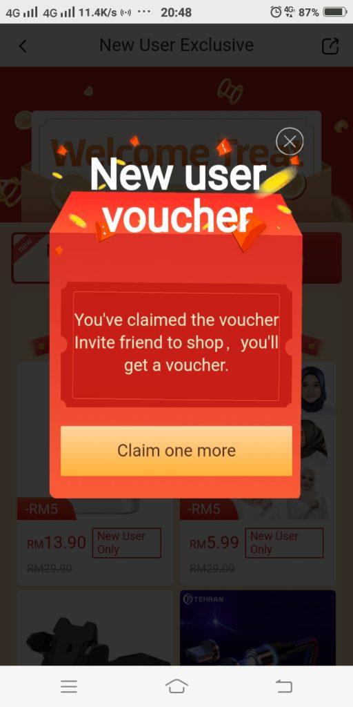terima FINGO baucer RM5 PERCUMA apabila rakan membuat sebarang belian
