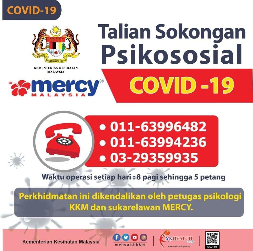 Talian Sokongan Psikososial COVID-19
