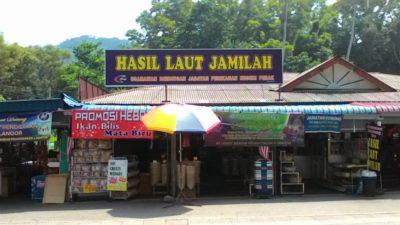 Kedai Hasil Laut Jamilah Pangkor